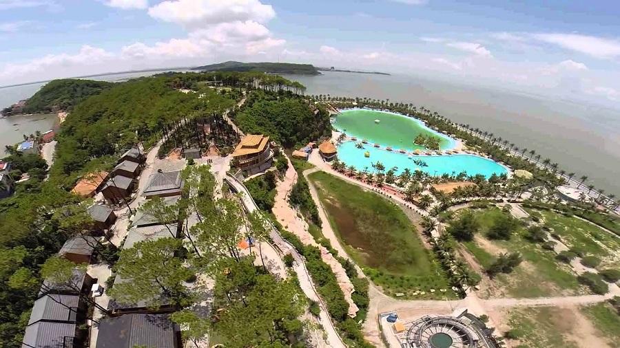 Khu du lịch Quốc tế Hòn Dấu bên biển Đồ Sơn