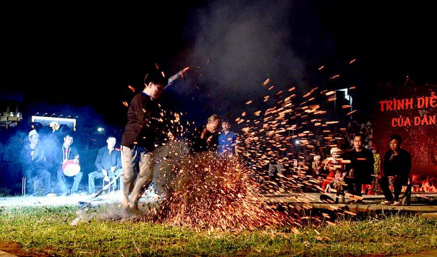 Lễ hội đầu xuân của các dân tộc sinh sống tại Na Hang