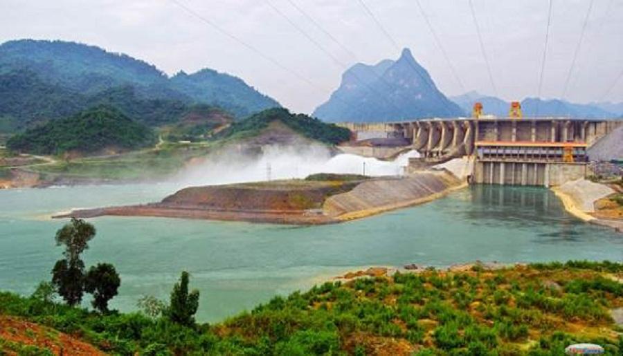 Vẻ đẹp hùng vĩ của nhà máy thủy điện Na Hang