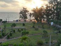 Quang cảnh đẹp tại khách sạn công đoàn Đồ Sơn