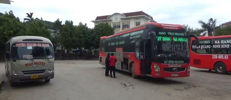 Xe khách đi Na Hang