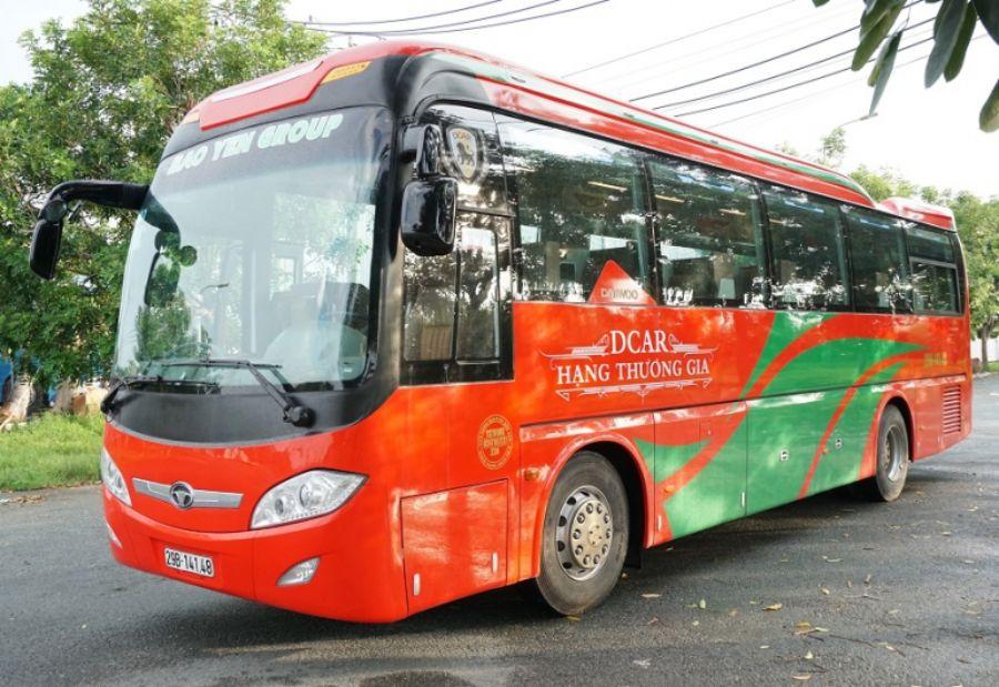 Đi xe khách để đến với Na Hang