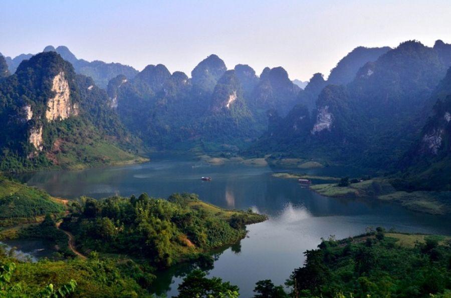 Các tuyến xe của Quang Bắc đều có điểm dừng ở Na Hang