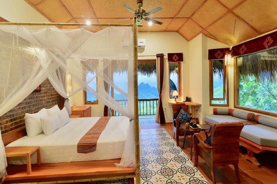 Phòng Bungalow tại Pu Luong Retreat