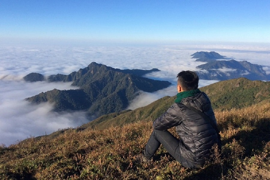 Săn mây trên đỉnh Pù Luông