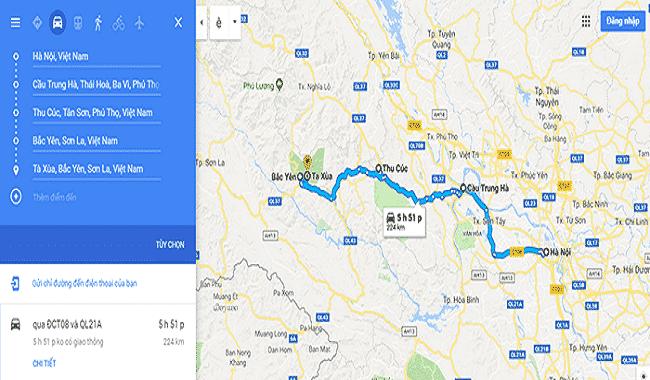 Hướng dẫn đường đi từ Hà Nội đến Tà Xùa