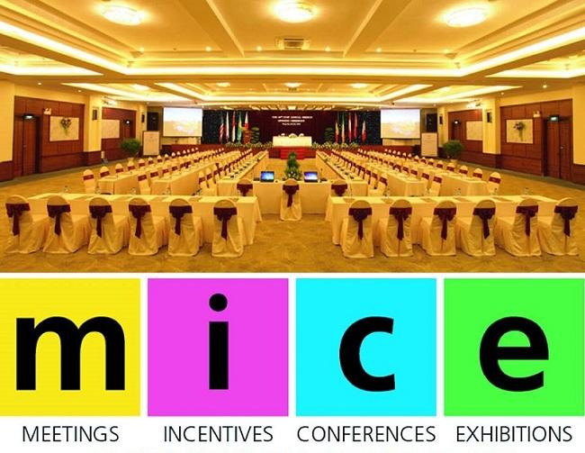 Du lịch MICE là hình thức du lịch nghỉ dưỡng kết hợp với tổ chức hội thảo, hội nghị