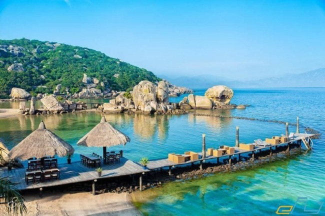 Biển Cần Giờ xanh ngắt tuyệt đẹp