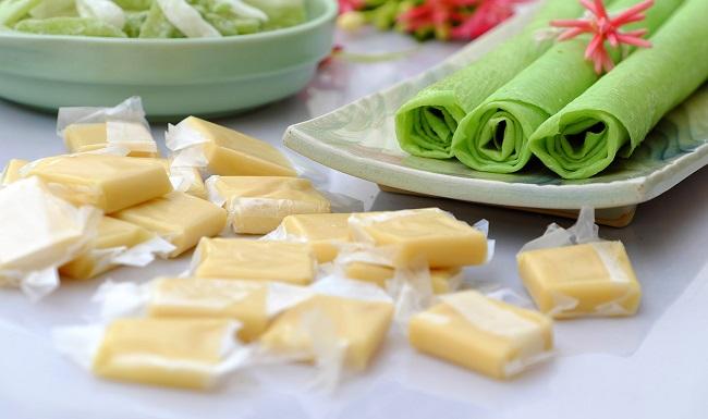 Các loại đặc sản từ dừa có vị ngọt thanh cùng hương dừa béo ngậy khiến ai thử qua cũng thích mê