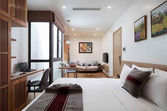Không gian nghỉ dưỡng tại khách sạn cao cấp, tiện nghi