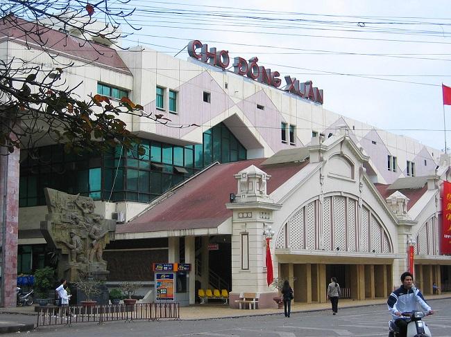 Chợ Đồng Xuân - chợ lâu đời bậc nhất Hà thành