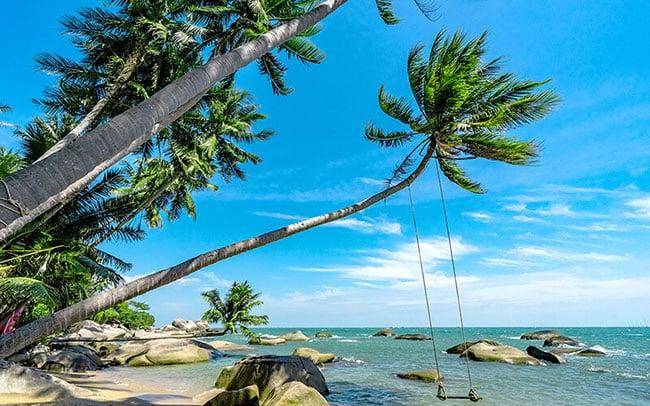 Đảo Nam Du với cảnh quan sinh thái thơ mộng, cuốn hút ánh nhìn
