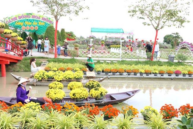 Lễ hội tại làng hoa Sa Đéc Đồng Tháp