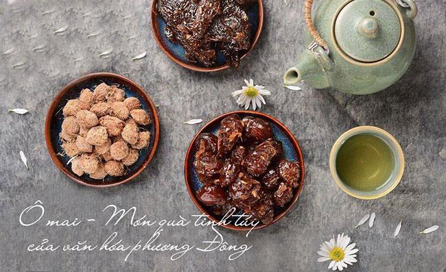 Món ô mai với hương vị biến đổi linh hoạt tạo nên sức hút đặc trưng