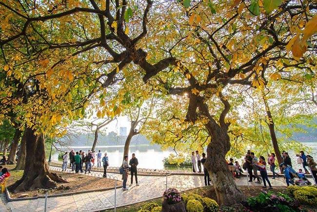 Nên đến Hà Nội vào mùa thu với cái lạnh se se, nhẹ nhàng